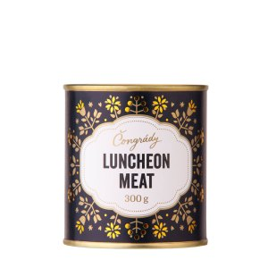 Čongrády; Luncheon meat; Beerstation