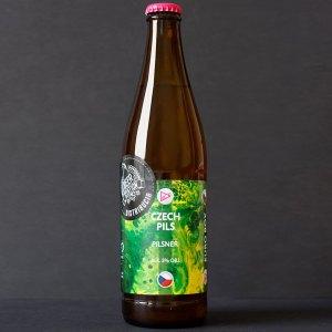 Funky Fluid; Czech Pils 12°; Craft Beer; Remeselné Pivo; Pod vrchnakom; Beer Station; Fľaškové pivo; Pilsner; Distribúcia piva; Poľské pivo