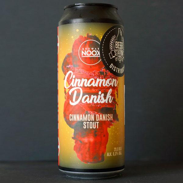 Nook; Cinnamon Danish; Craft Beer; Remeselné Pivo; Pod vrchnakom; Beer Station; Plechovkové pivo; Pastry Stout; Distribúcia piva; Poľské pivo