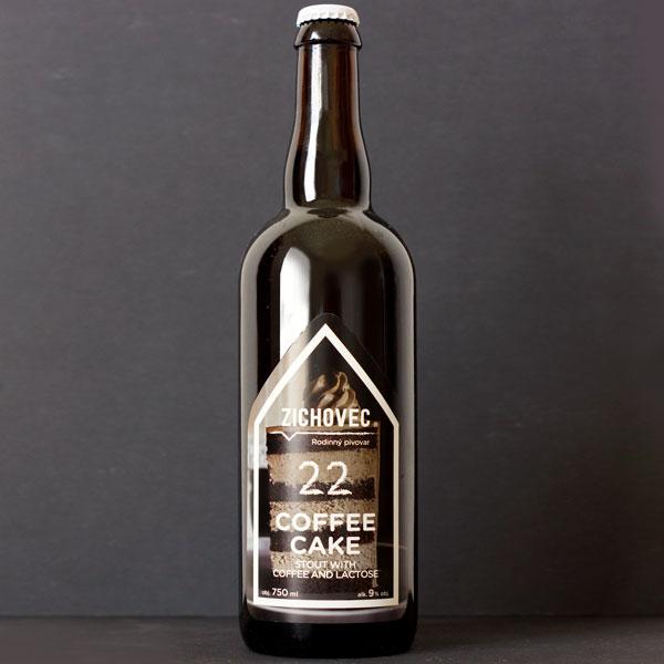 Zichovec; Coffee Cake; Zichovec pivo; Zichovec Stout