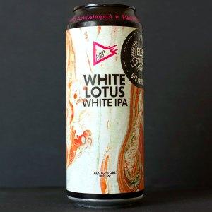 Funky Fluid; White Lotus; Craft Beer; Remeselné Pivo; Pod vrchnakom; Beer Station; Plechovkové pivo; White IPA; Distribúcia piva; Poľské pivo