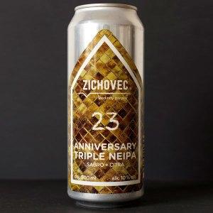 Anniversary Triple NEIPA 23°; Zichovec plechovka; Zichovec; Beer Station; pivo e-shop; remeselné pivo; remeselný pivovar; craft beer Bratislava; živé pivo; Triple NEIPA; pivo