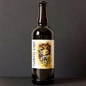Mazák; Coffee Stout 12°; Rozvoz piva; Remeselné pivo; Živé pivo; Beer Station; Remeselný pivovar ; Stout
