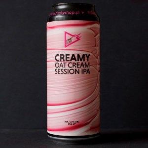 Funky Fluid; Creamy; Remeselné Pivo; Pod vrchnakom; Beer Station; Fľaškové pivo; Oat Cream Session IPA; Distribúcia piva; Poľské pivo