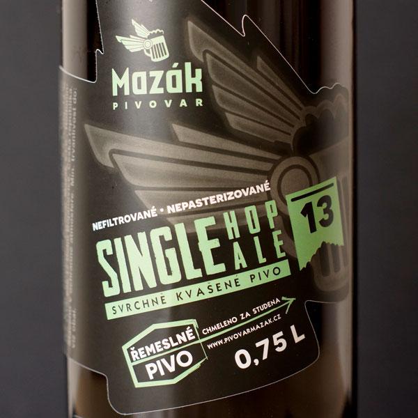 Mazák; SH Citra 13°; Rozvoz piva; Remeselné pivo; Živé pivo; Beer Station; Remeselný pivovar ; Single Hop IPA