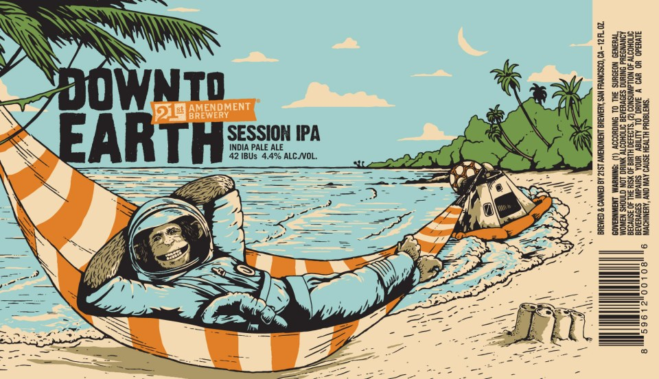 21st Amendment Down to Earth Session IPA