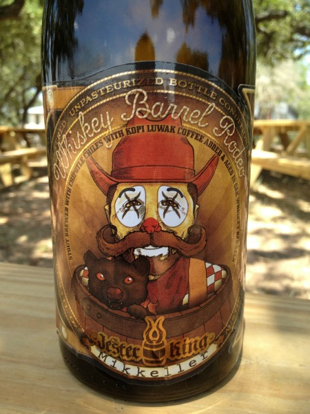 Jester King/Mikkeller Barrel Aged Weasel Geek Rodeo