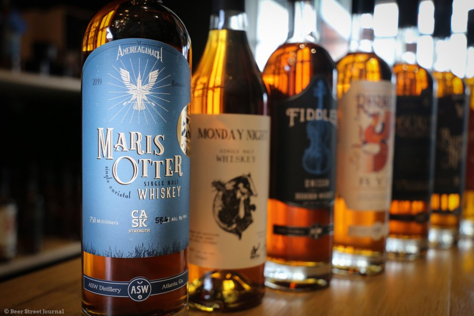 ASW Maris Otter Single Malt Whiskey