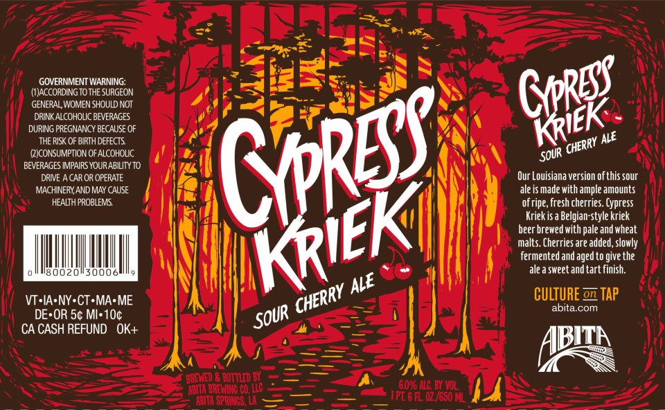 Abita Cypress Kriek