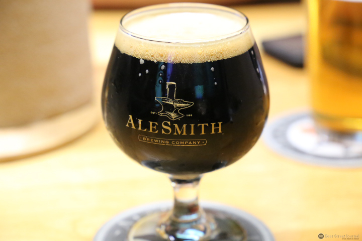 AleSmith Brewing Glass
