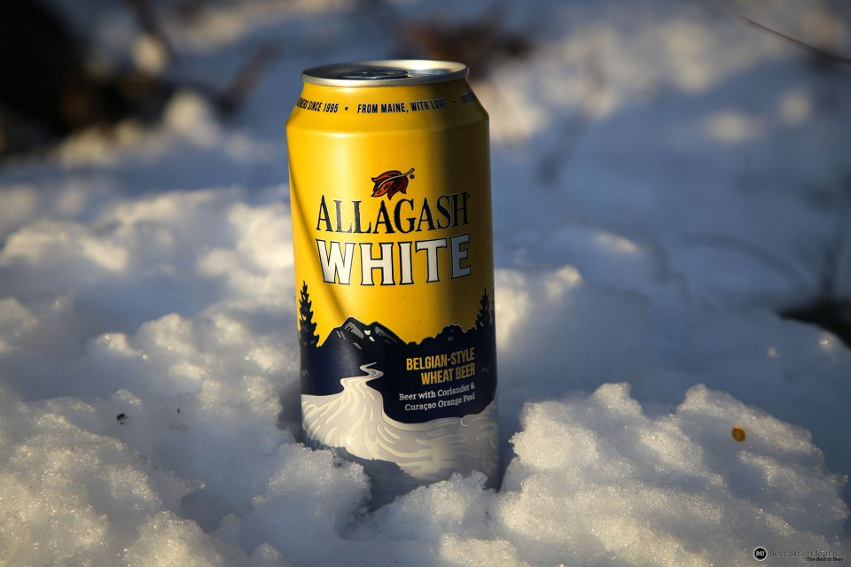 Allagash White Can