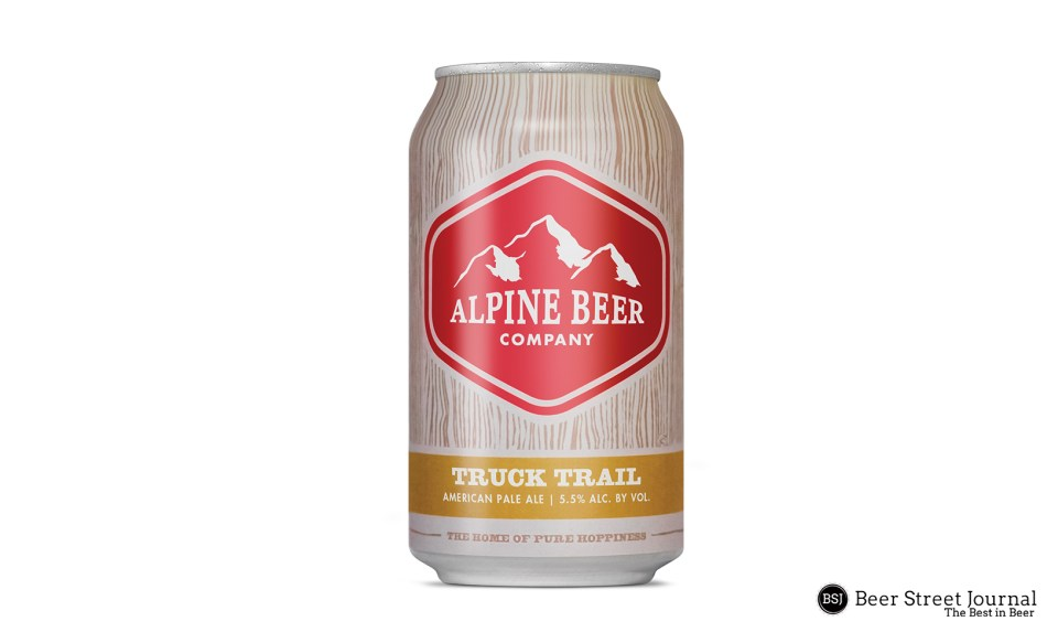 Alpine Beer Truck Trail Pale Ale