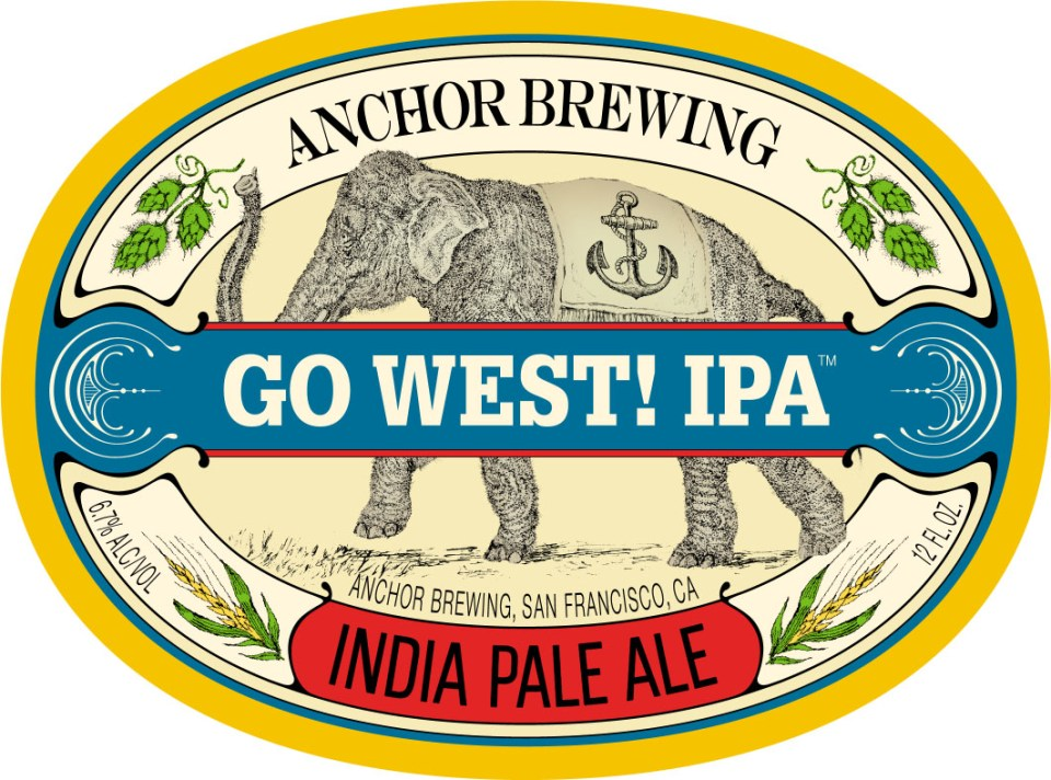 Anchor Go West! IPA