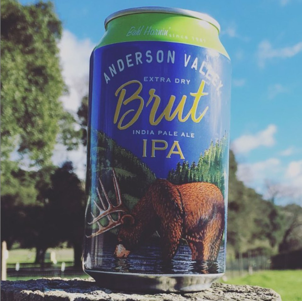 Anderson Valley Brut IPA