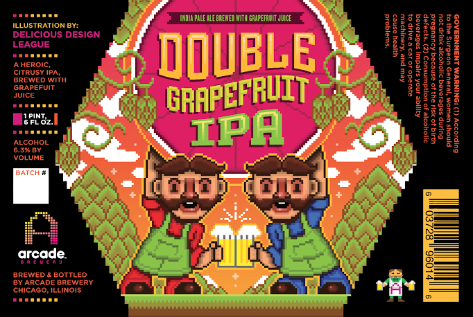 Arcade Double Grapefruit IPA