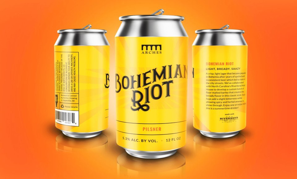 Arches Brewing Bohemian Riot