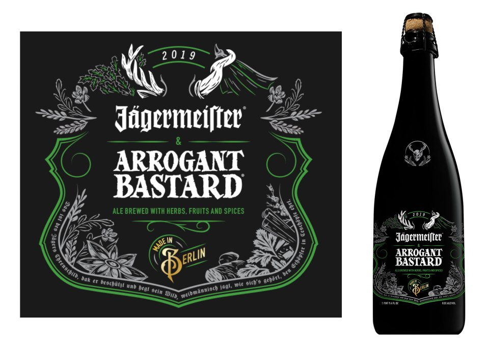 Arrogant Bastard Jagermeister Ale