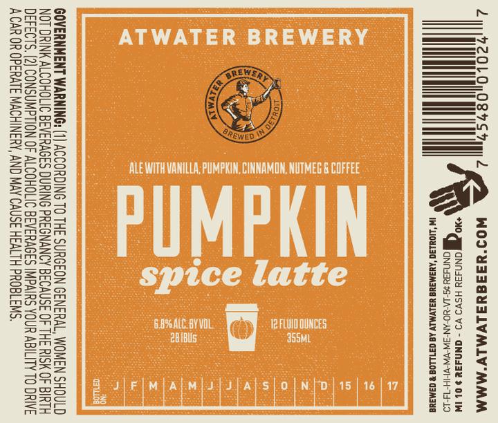 Atwater Pumpkin Spice Latte
