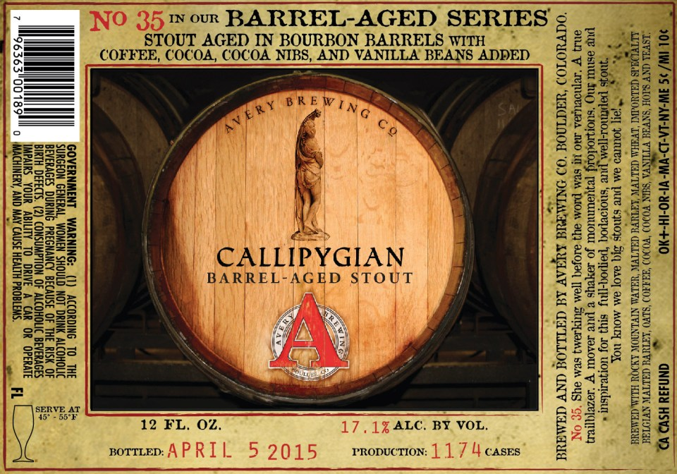 Avery Calliphgian Barrel-Aged Stout