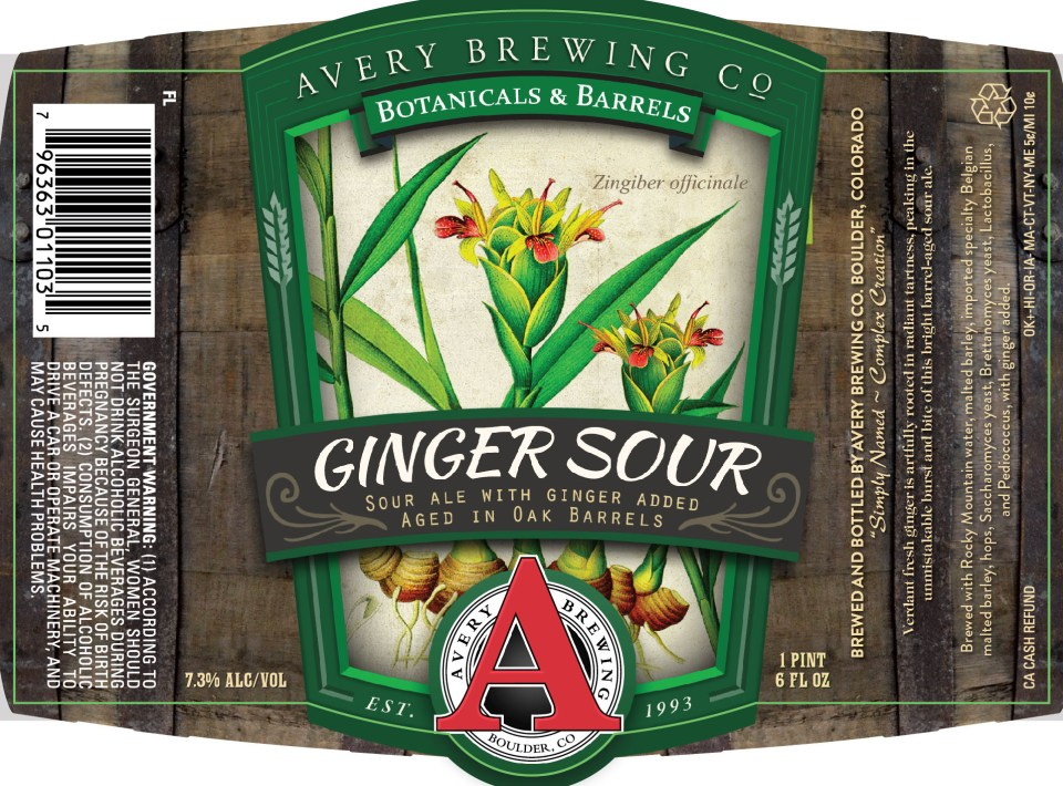 Avery Ginger Sour