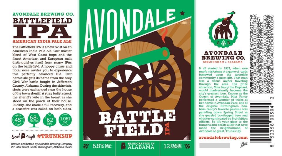 Avondale Battlefield IPA