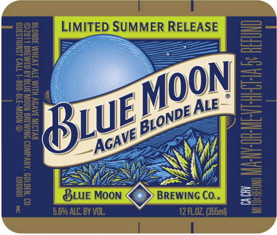 Blue Moon Agave Blonde Ale