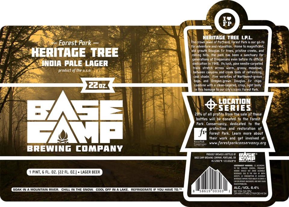 Base Camp Heritage Tree India Pale Lager