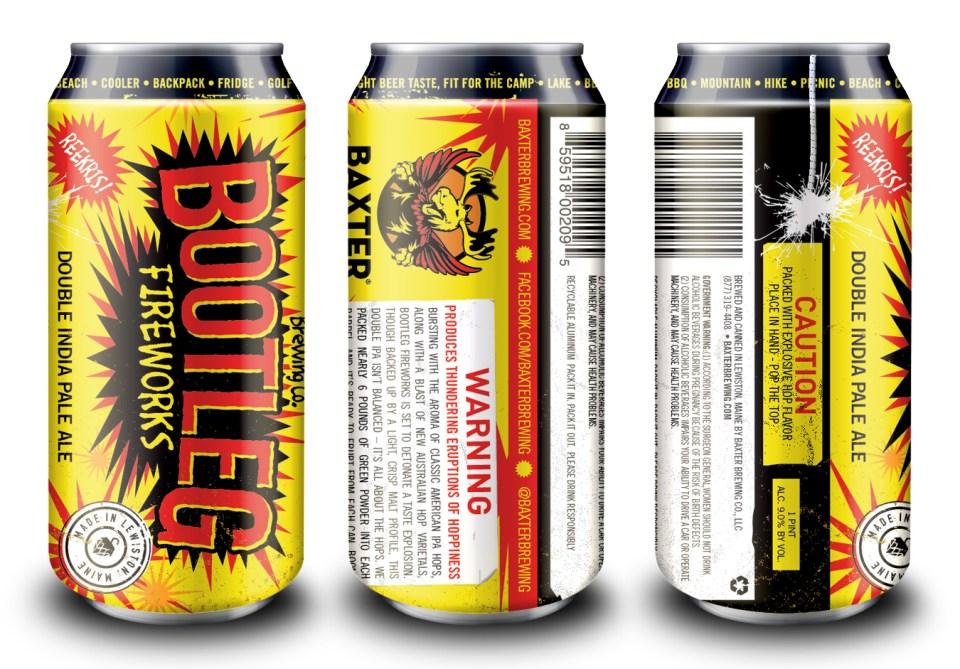 Baxter Bootleg Cans