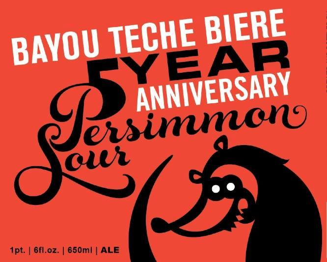 Bayou Teche 5 Year Anniversary Persimmon Sour