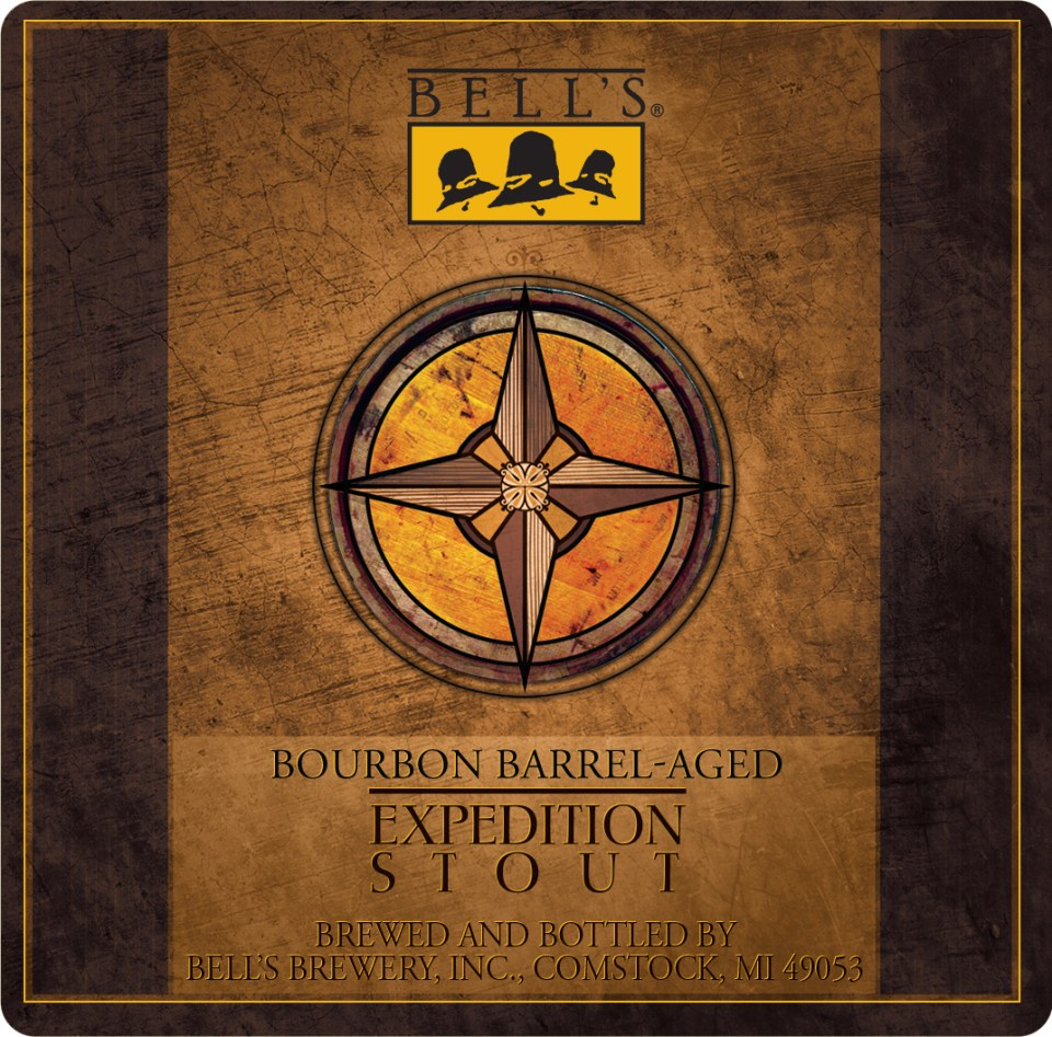 Bell's Bourbon Barrel-Aged Expedition Stout