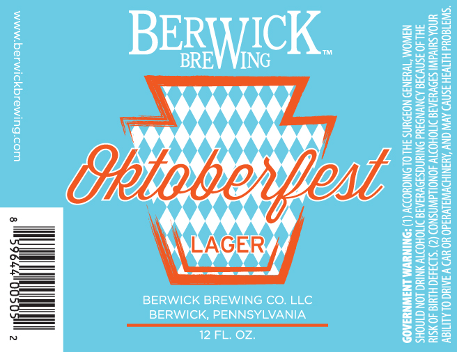 Berwick Brewing Oktoberfest