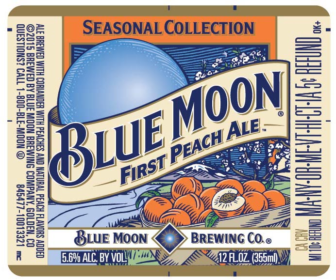 Blue Moon First Peach Ale