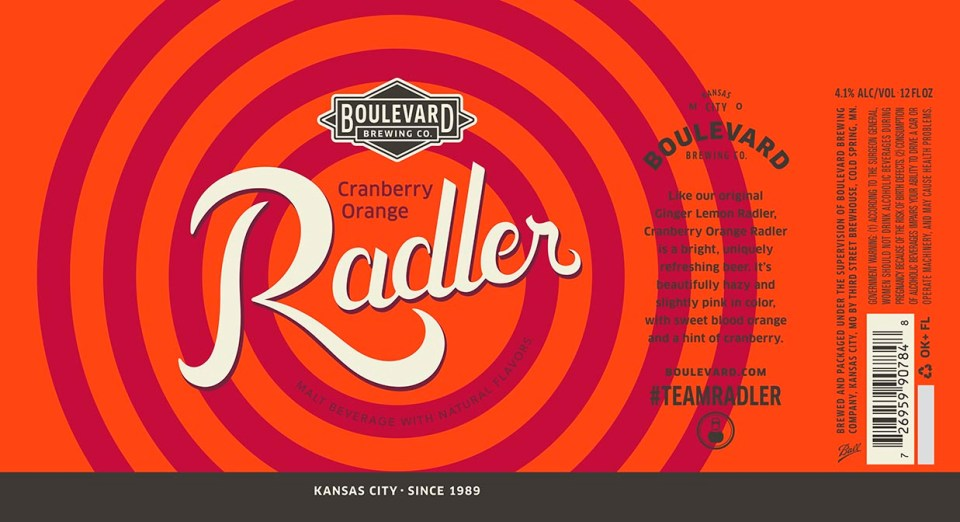 Boulevard Cranberry Orange Radler