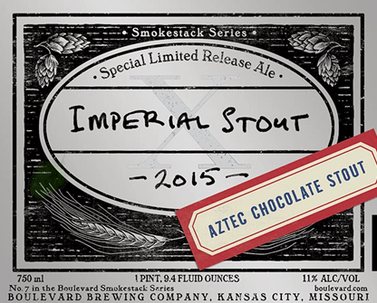 Boulevard imperial Stout Aztec Chocolate