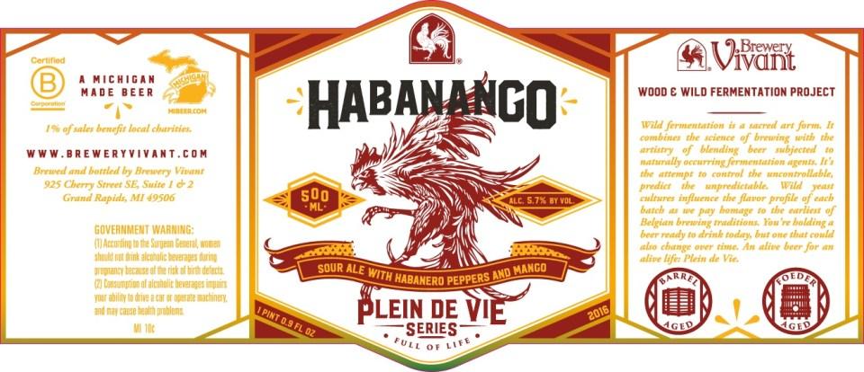 Brewery Vivant Habanango