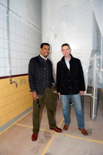 Brooklyn Brewery Brewmaster Garrett Oliver & Chief Operating Officer Eric Ottaway