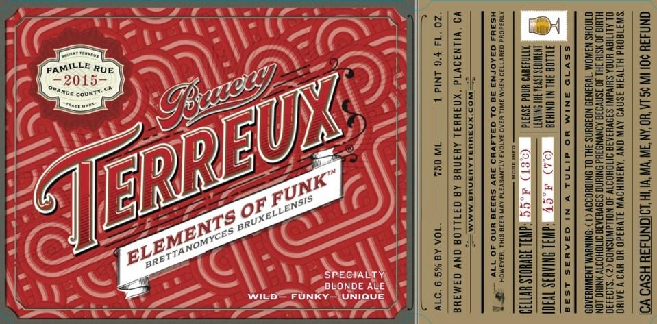 Bruery Terreux Elements of Funk (Brux)