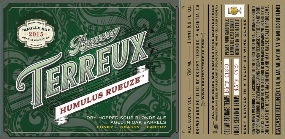 Bruery Terreux Humulus Rueze