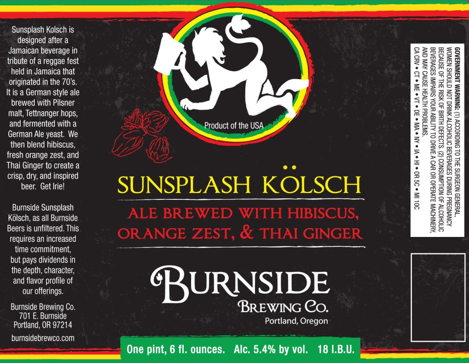 Burnside Sunsplash Kolsch