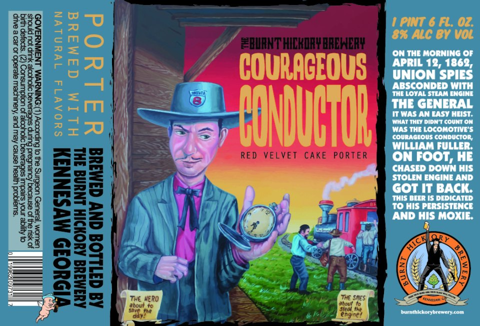 Burnt Hickory Courageous Conductor