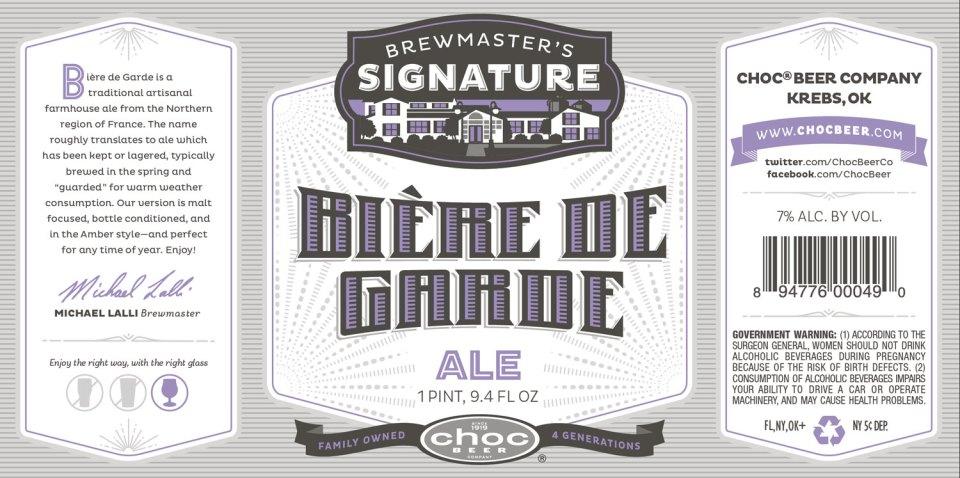 Choc Beer Biere De Garde