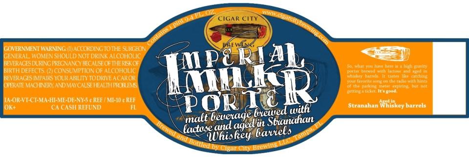 Cigar City Imperial Milk Porter