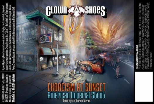 Clown Shoes Exorcism at Sunset