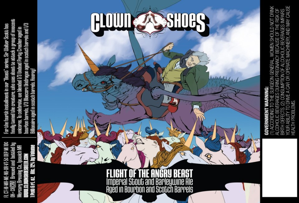 Clown Shoes Flight of the Angry Beast