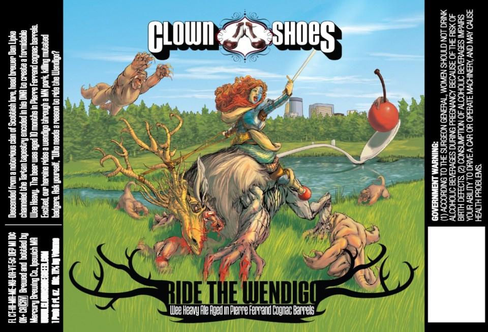 Clown Shoes Ride the Wendigo