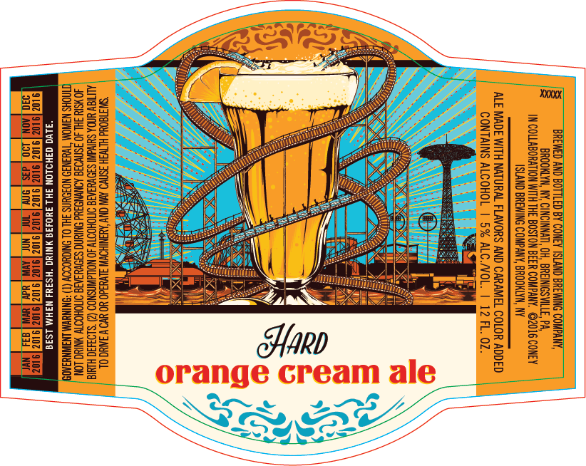 Coney Island Hard Orange Cream Ale