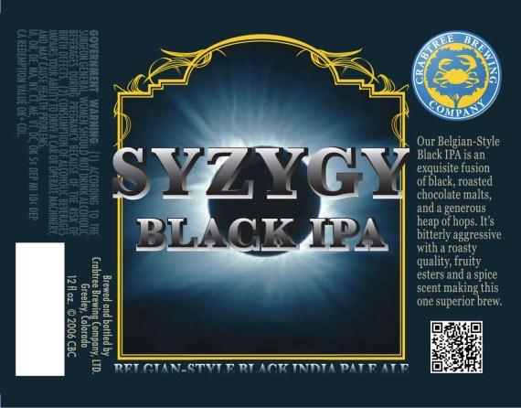 Crabtree Brewing Syzygy Black IPA