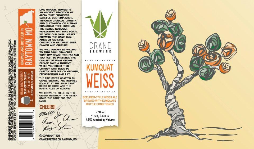 Crane Brewing Kumquat Weiss