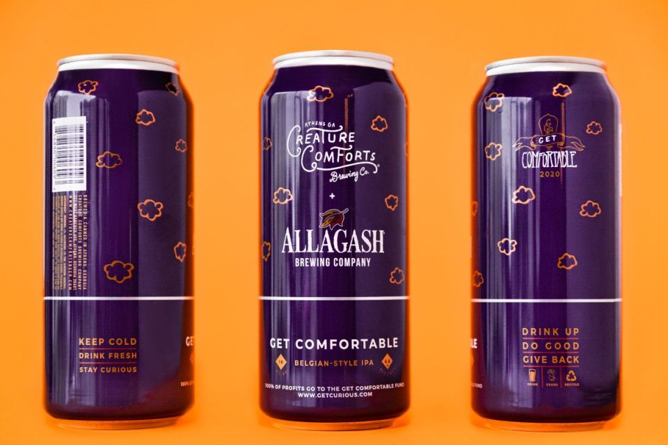 Creature Comforts Allagash Get Comfortable 2020