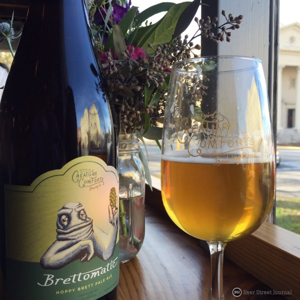 Creature Comforts Brettomatic bottle